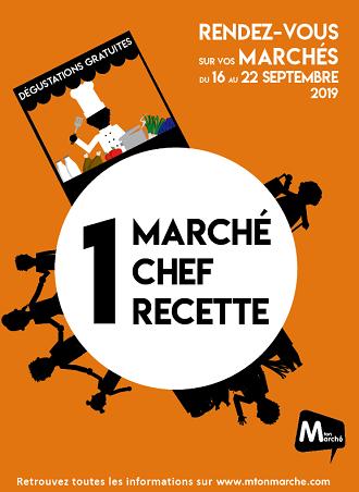 M ton Marché - 1 Marché, 1 Chef, 1 Recette 2019